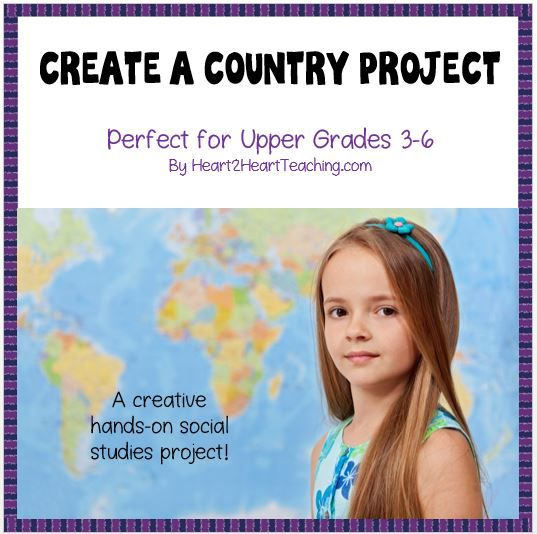 end of the year activities create a country project