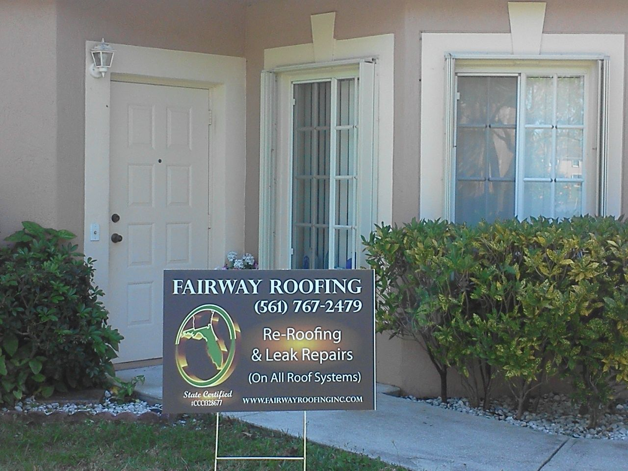 Best Yard Sign Roof Leak Repair Roofing Systems Yard Signs 400 x 300