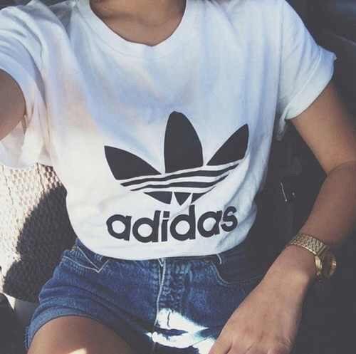 Find this Pin and more on S T Y L E. t-shirt adidas ... - Hipster|Grunge Stuff S T Y L E Pinterest Hipster Grunge