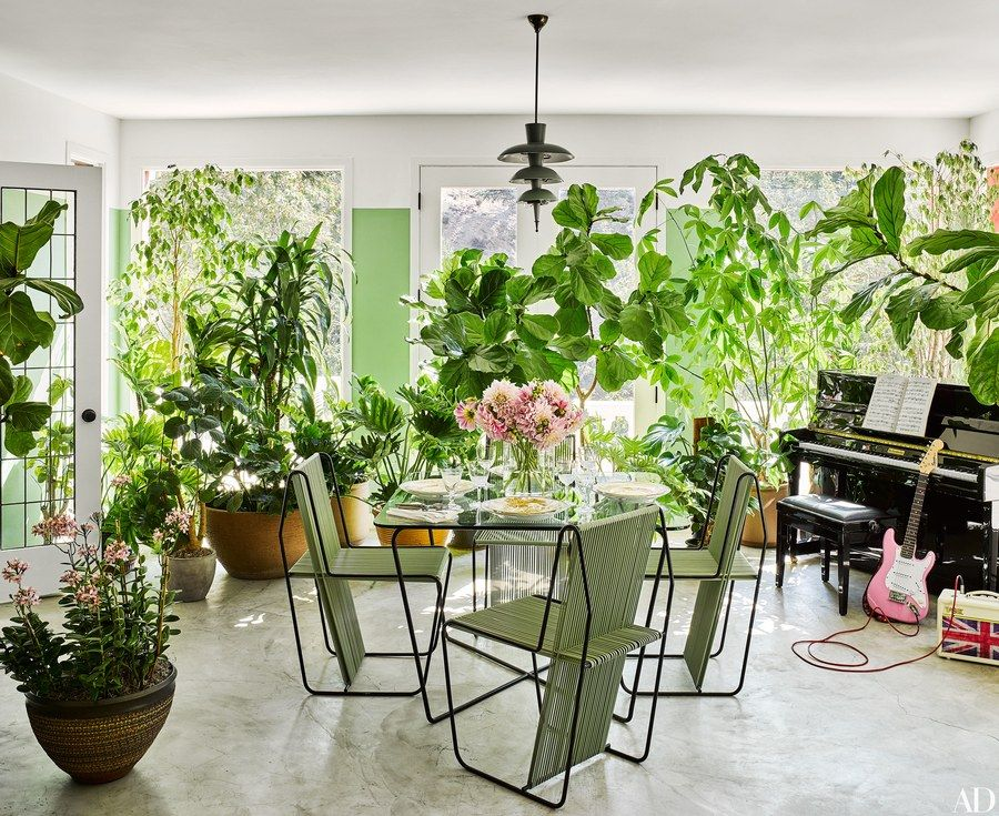 We Go Inside Brigette And Mark Romanek S Family Home In Los
