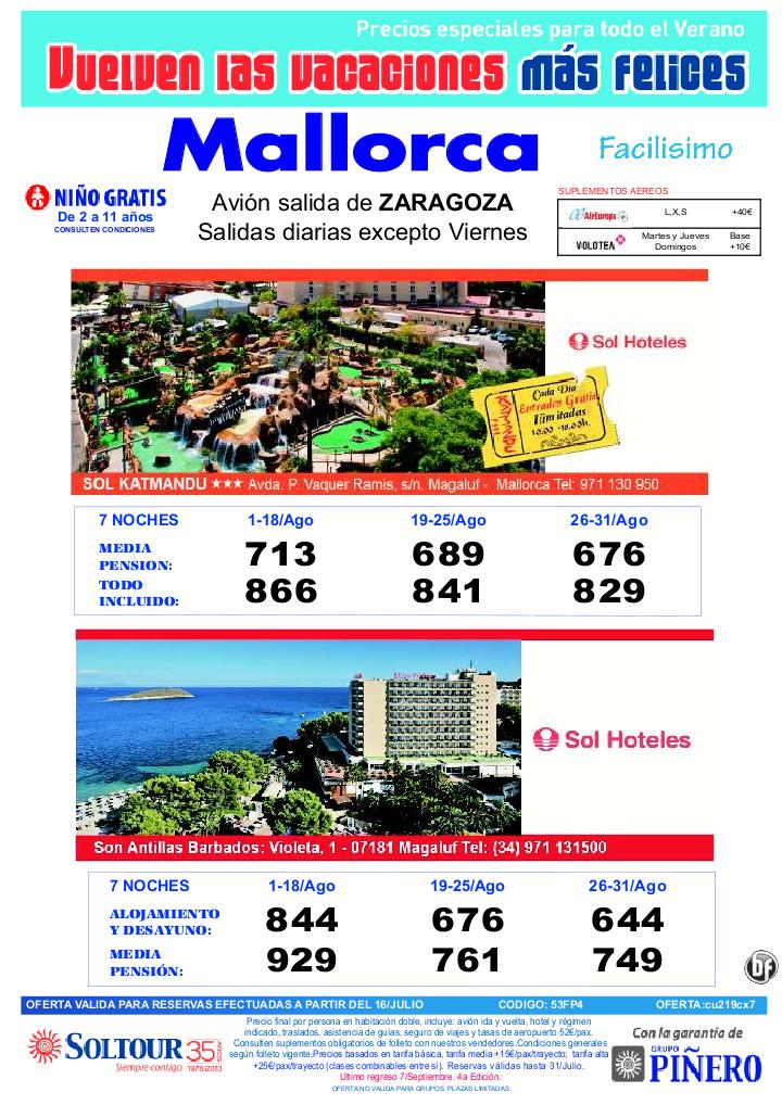 4ªEd vacaciones mas felices. Hotel Sol Katmandu y Sol Antillas salidas desde Zaragoza - http://zocotours.com/4aed-vacaciones-mas-felices-hotel-sol-katmandu-y-sol-antillas-salidas-desde-zaragoza-2/
