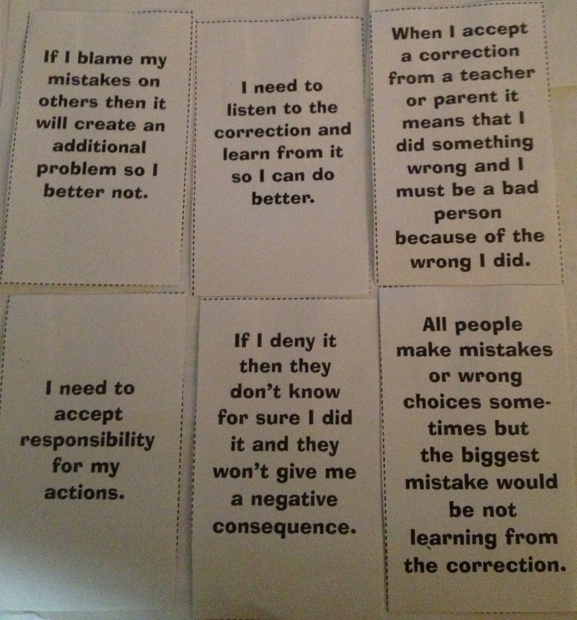 Reframing Thinking Activity Cards