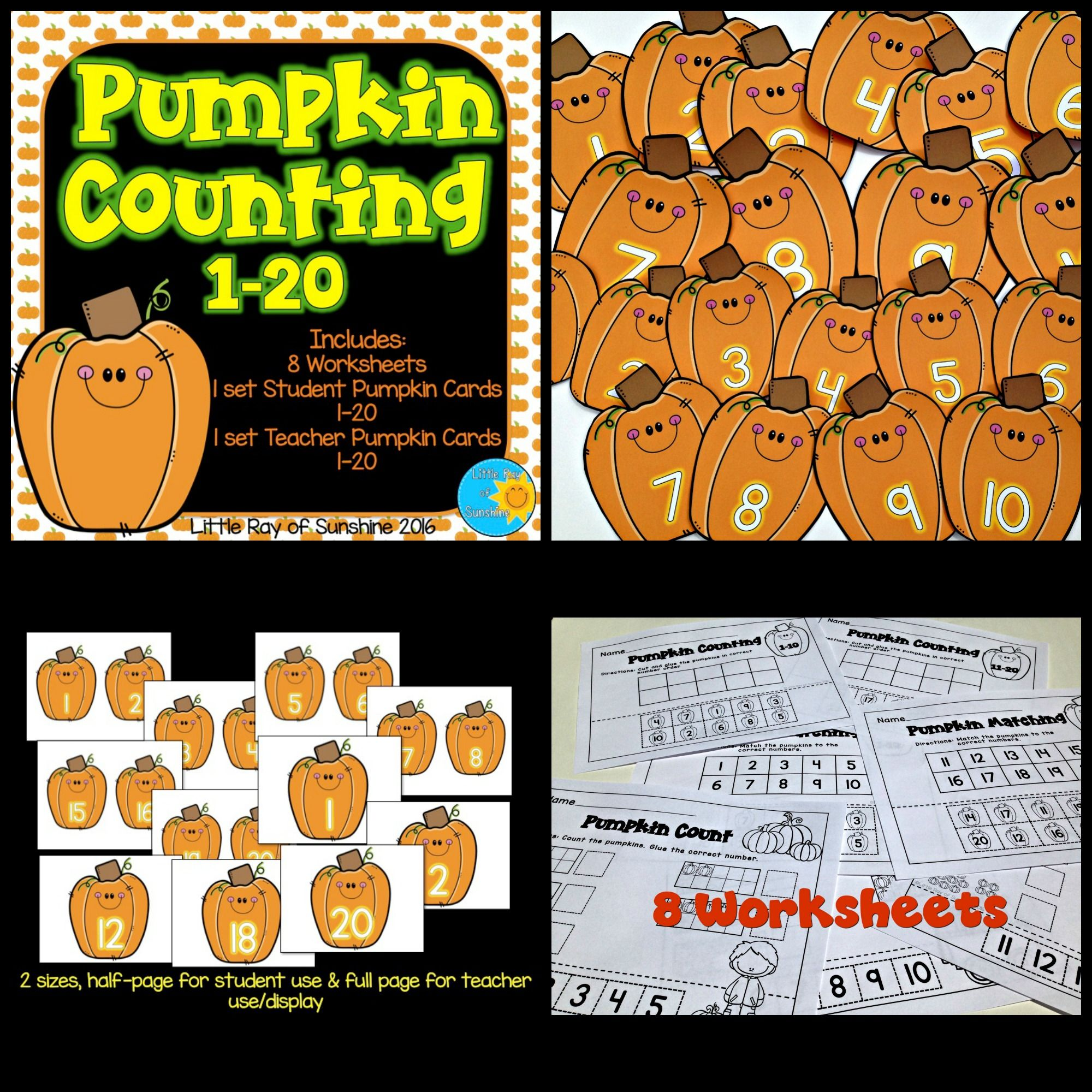 Have Fun Reviewing Numbers And Counting With These