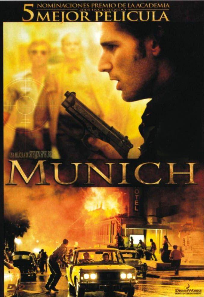 Munich Vídeo Una Película De Steven Spielberg Madrid Universal Studios 2006 Carteleras De Cine Peliculas Cine Películas De Aventuras