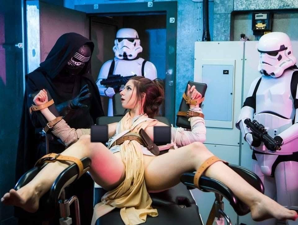 Star wars force rising parody porn