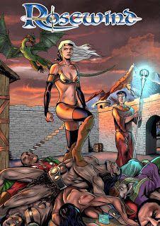 LOS MIL Y UN ORIGINALES: Sketch de Rosewind, por Juan Luis Rincón