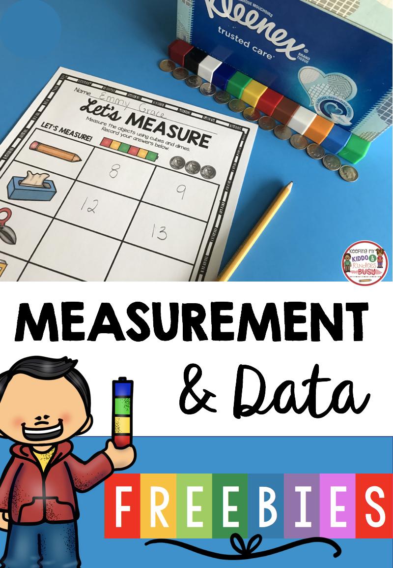 Measurement And Data Kindergarten Math Unit Freebies Keeping My Kiddo Busy Math Centers Kindergarten Kindergarten Math Units Kindergarten Measurement Activities [ 1154 x 800 Pixel ]