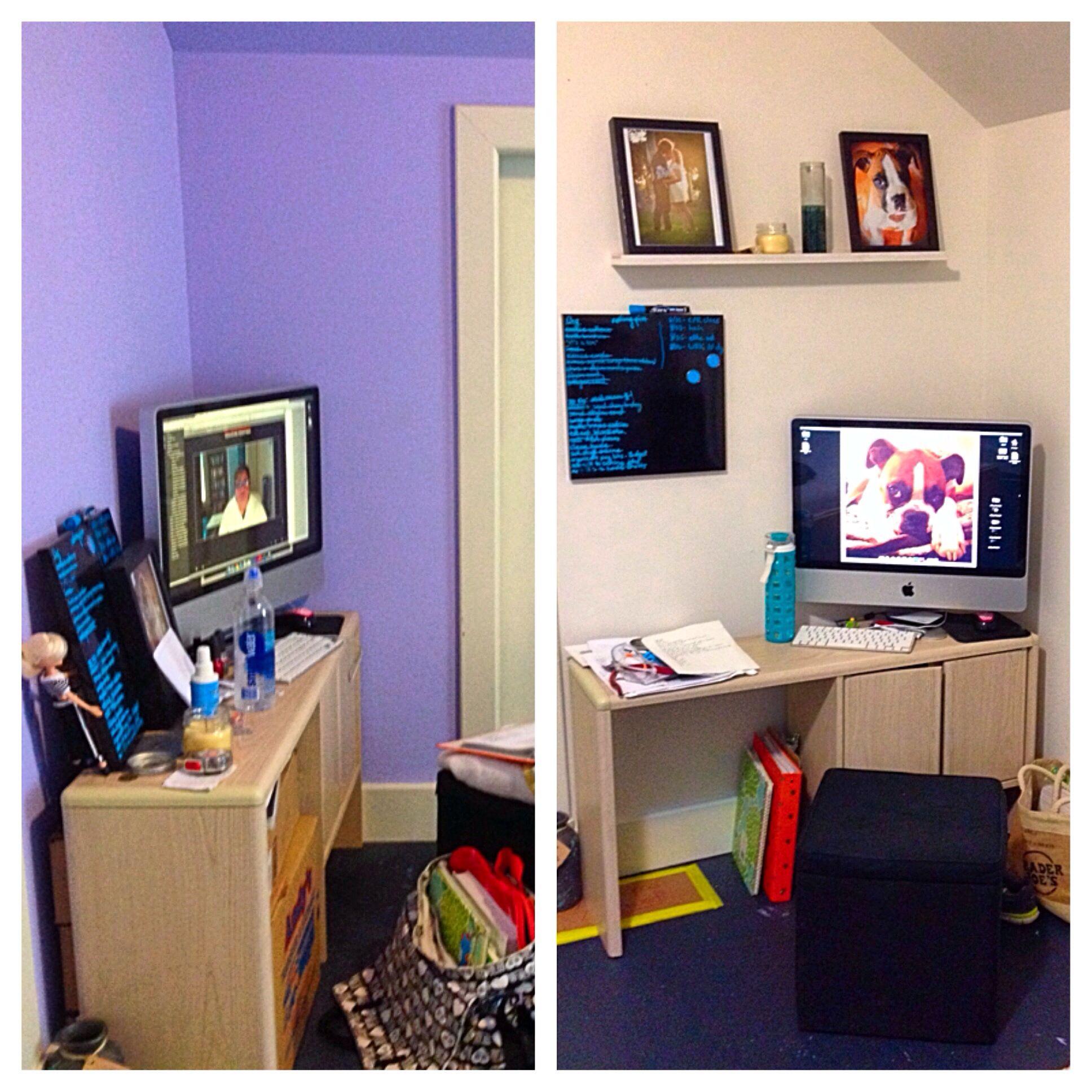 :: bedroom office remix :: #nomorepurple #diy #project # ...