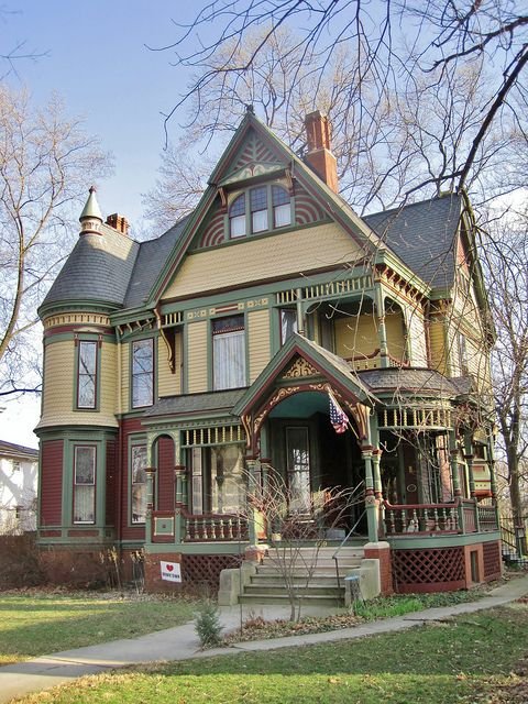 Edward B Gridley House Victorian Homes Victorian Style Homes Cool House Designs