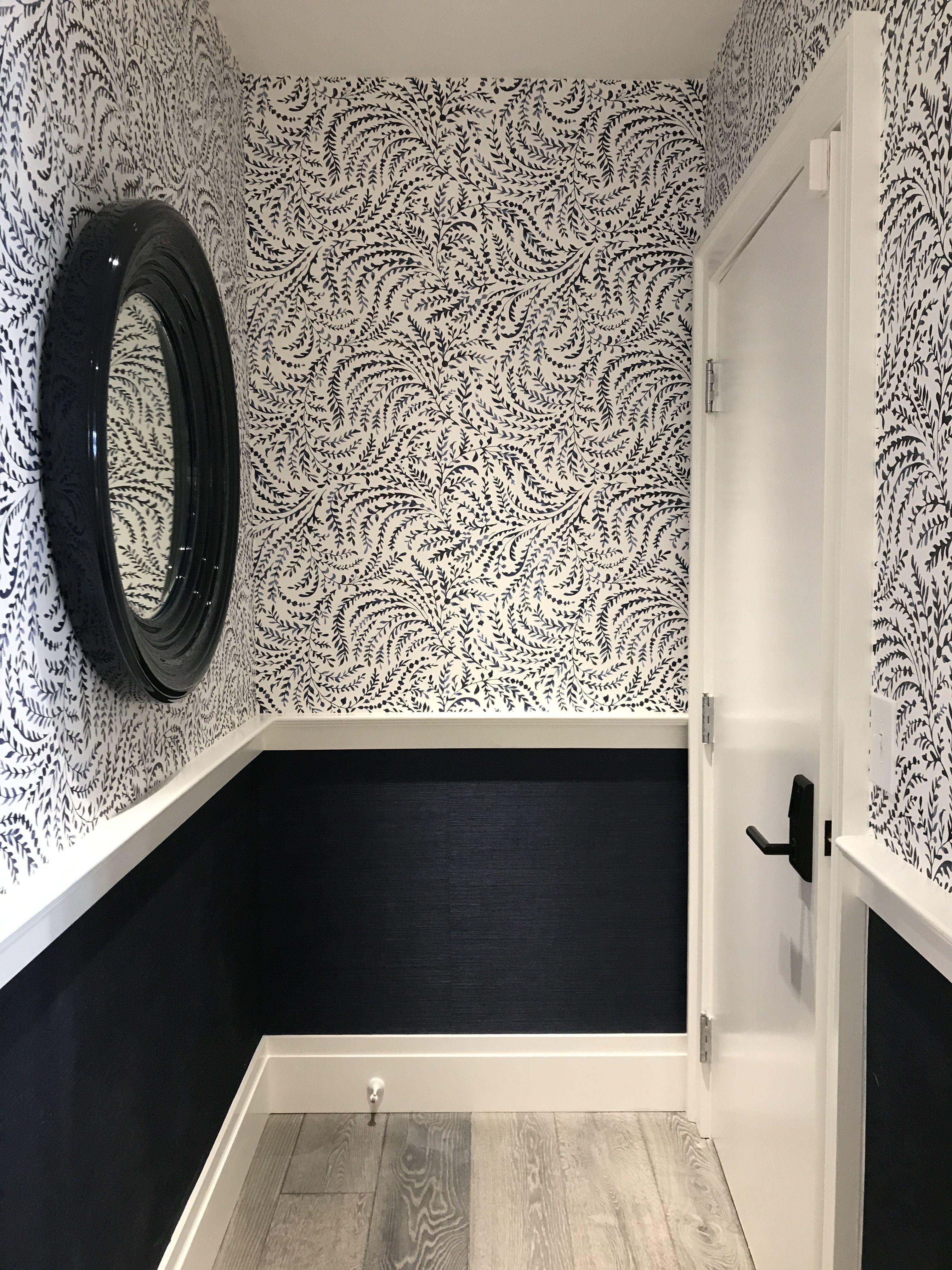 Serena Lily Store Powder Room Wallpaper In 2019 Serena