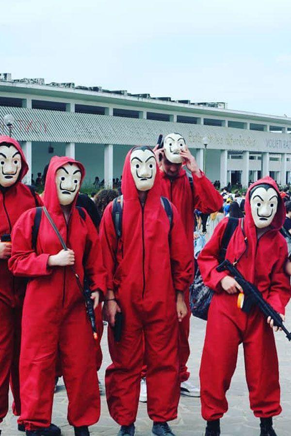 Das Haus Des Geldes Kostum Zum Selber Machen Verkleide Dich Wie Die Protagonisten Faschingsumzug Kostume Karneval Kostum Selber Machen Gruppenkostume Fasching