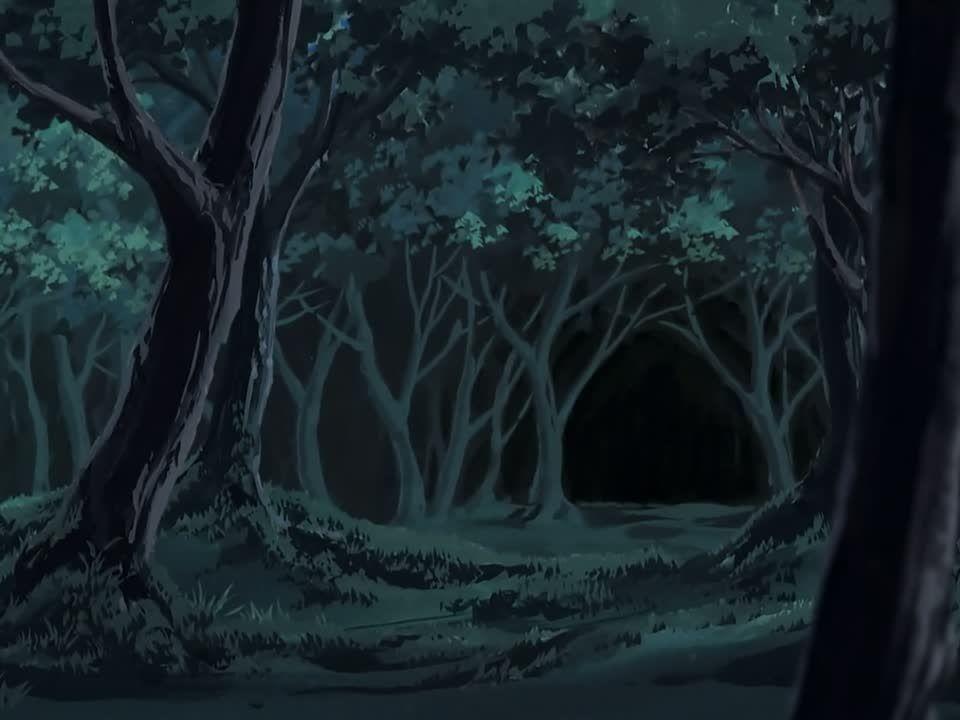 В темном лесу рисунок
