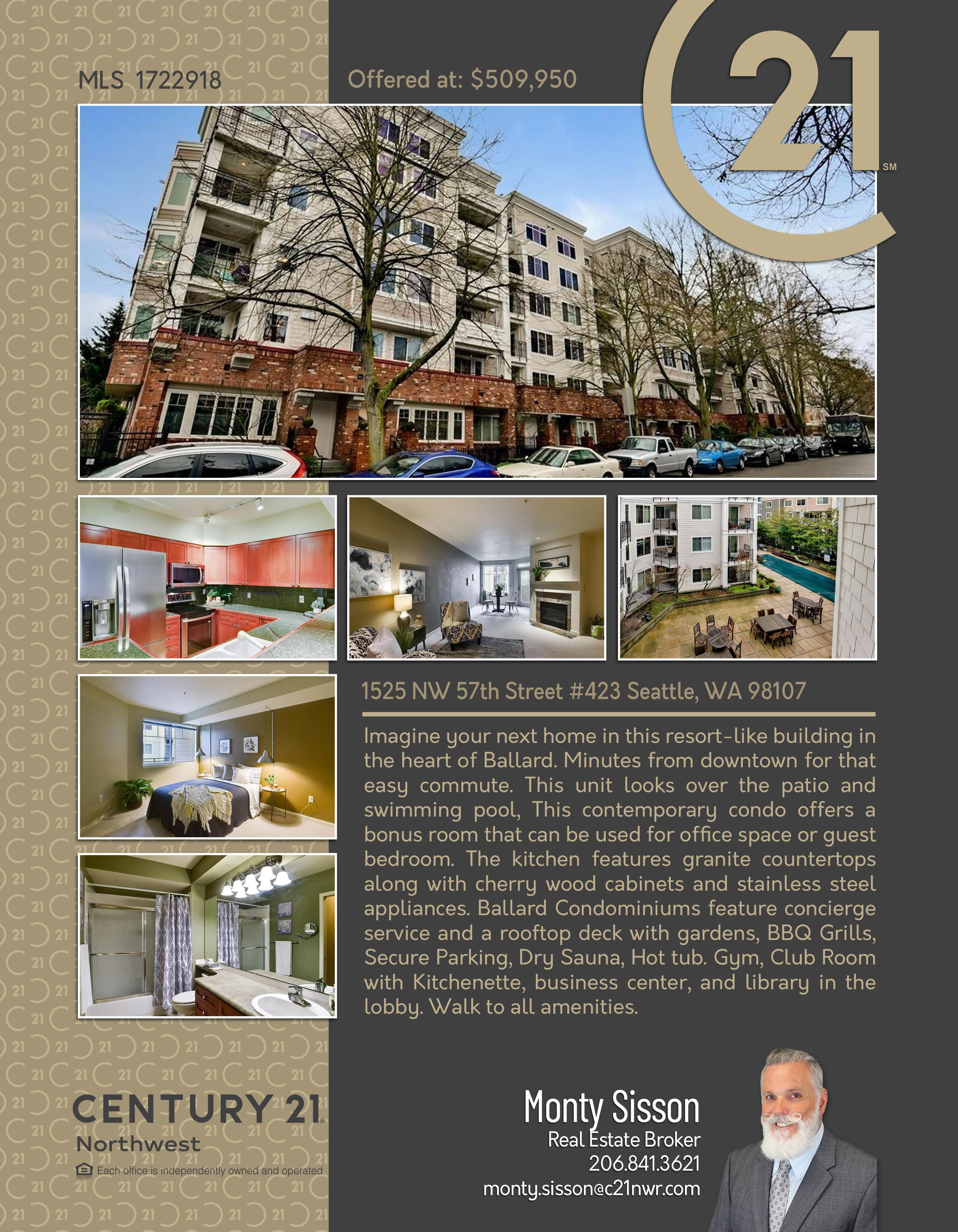 Newactive Imagine Your Next Home In This Resort Like Building In The Heart Of Ballard Minutes From Downtown For That E In 2021 Next At Home Swimming Pools Bonus Room