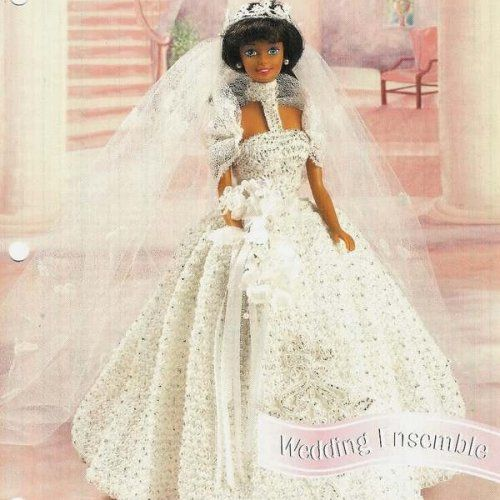 Free Crochet Pattern - Royal Wedding Dress (Barbie) from the ...