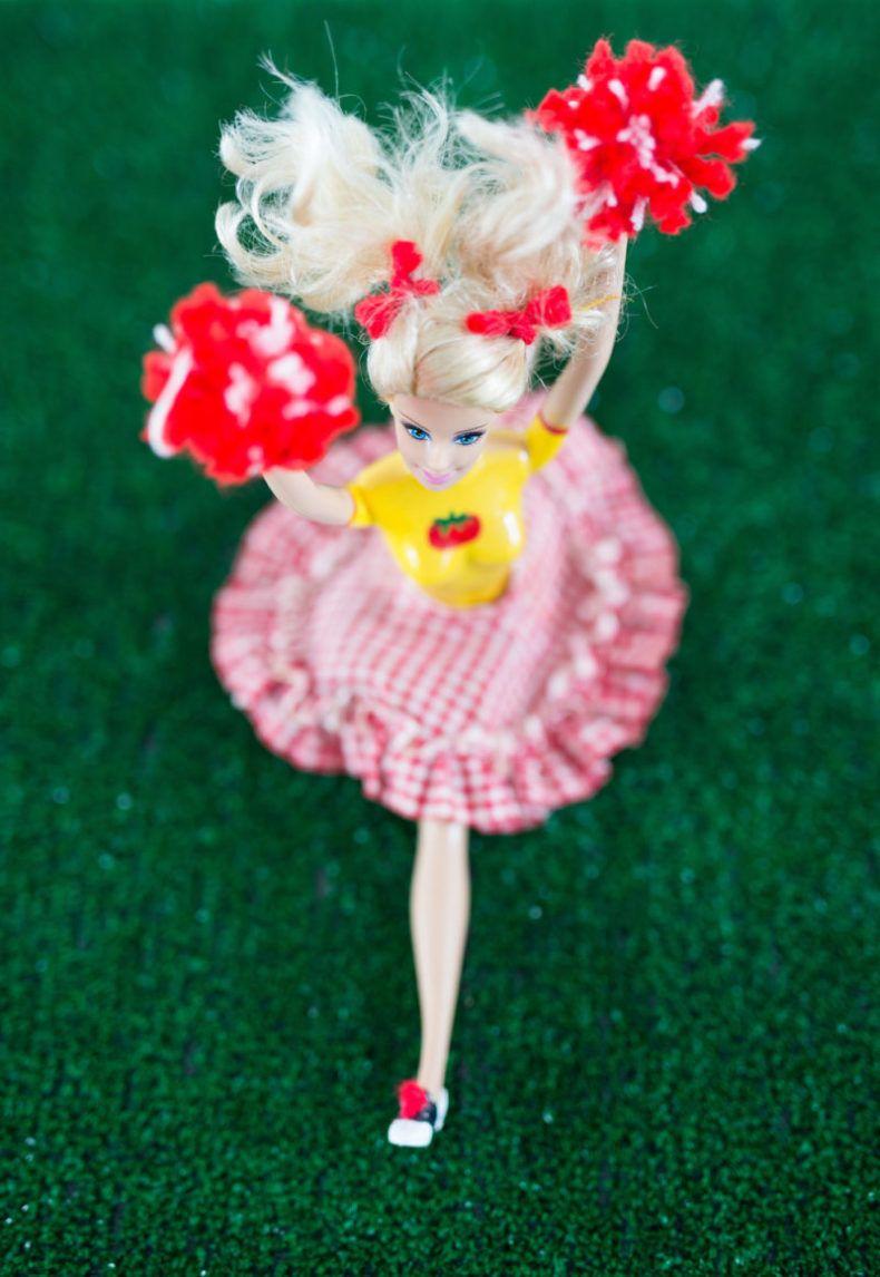 Original Vintage Style Cheerleader Barbie | Libbie Summers