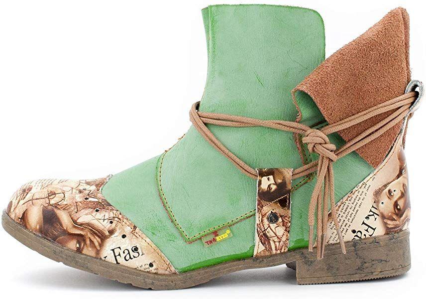 the latest 4a9b5 d54c3 TMA Damen Boots, Apfelgrün - 39: Amazon.de: Schuhe ...
