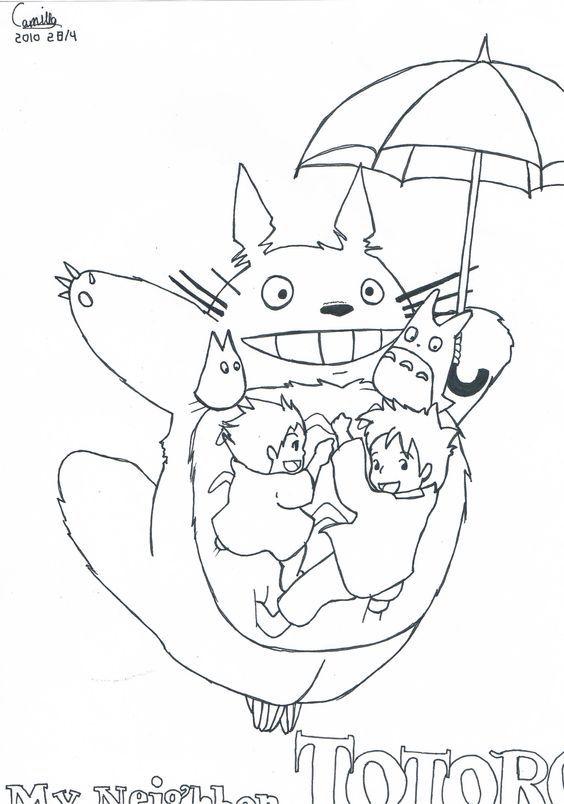 a6f49db7ee337e851a7ee282923e78f5.jpg (564×804) | My Neighbor Totoro ...