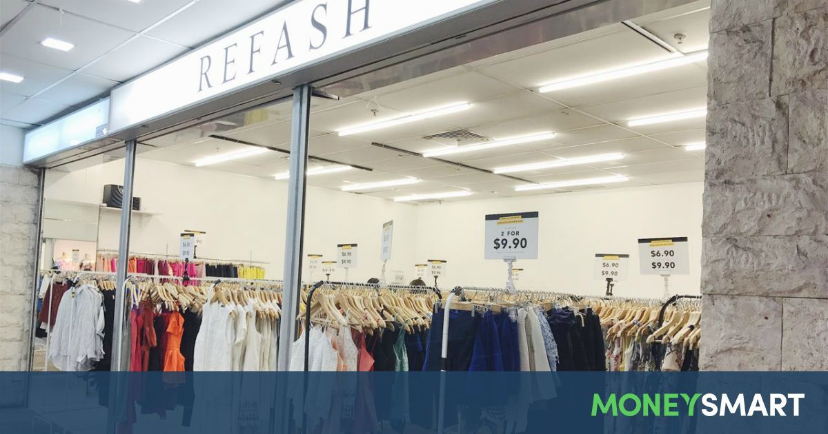 Here S A Guide To Buy And Sell Your Vintage Clothes At Refash Including Handling Fees And These Other Trendy Th Thrifting Thrift Shopping Second Hand Clothes