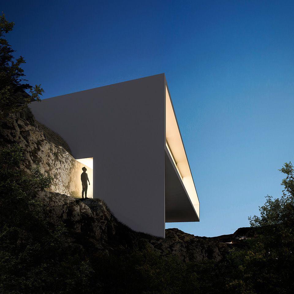 Fran silvestre arquitectos casa en hollywood hills exo for Casa minimalista harborview hills