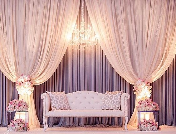 Debut Stage Backdrop Best 25+ Pelamin simpl...