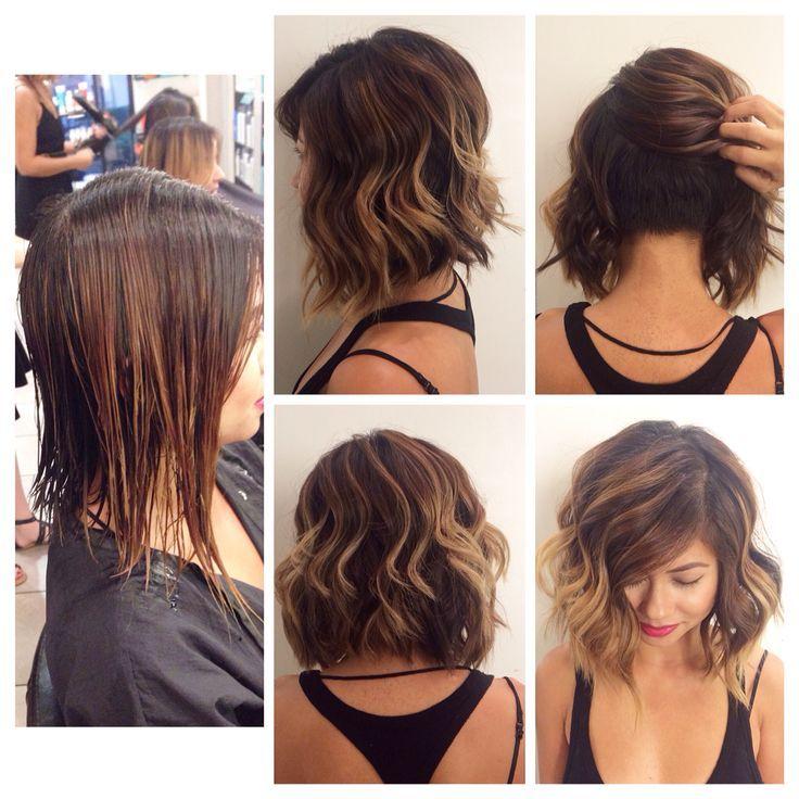 Hair coloring · hidden undercut