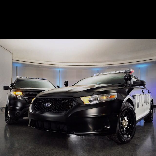 The new lineup of Ford Interceptor police vehicles. 365 hp out of a turbo charged Eco-boost V6. 0-60 in under 8 seconds from a all wheel drive electronic stability platform. Coming to your rear-view mirror soon.