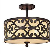 40W+Pendant+Light+,++Traditional/Classic+Painting+Feature+for+Mini+Style+Wood/BambooLiving+Room+/+Bedroom+/+Dining+Room+/+Study+–+NZD+$+335.18