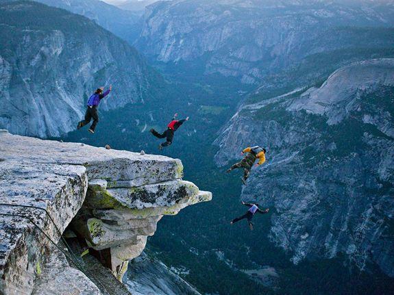 Base Jumping Yosemite Base Jumping Places To Visit National Parks Base jump wallpaper hd