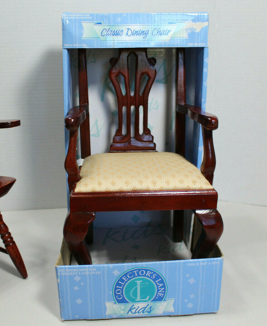 Details about Collector s Lane Doll Classic Dining Chair NEW