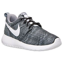 dc4915ce2180 ... boys grade school nike roshe run print casual shoes finish line black .