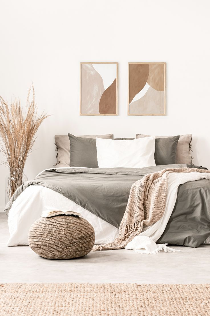 Neutral Boho Bedroom In 2020 Schlafzimmer Inspiration