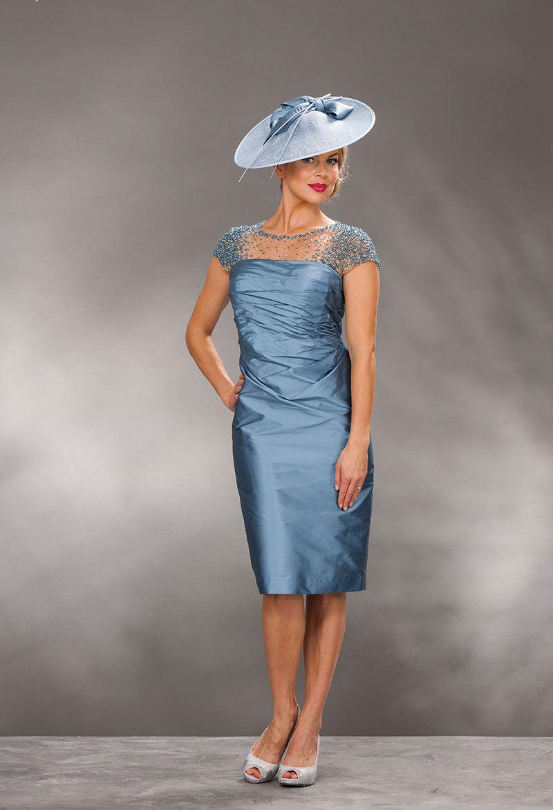 John Charles short silk dress & bolero 74190 - Catherines of Partick ...