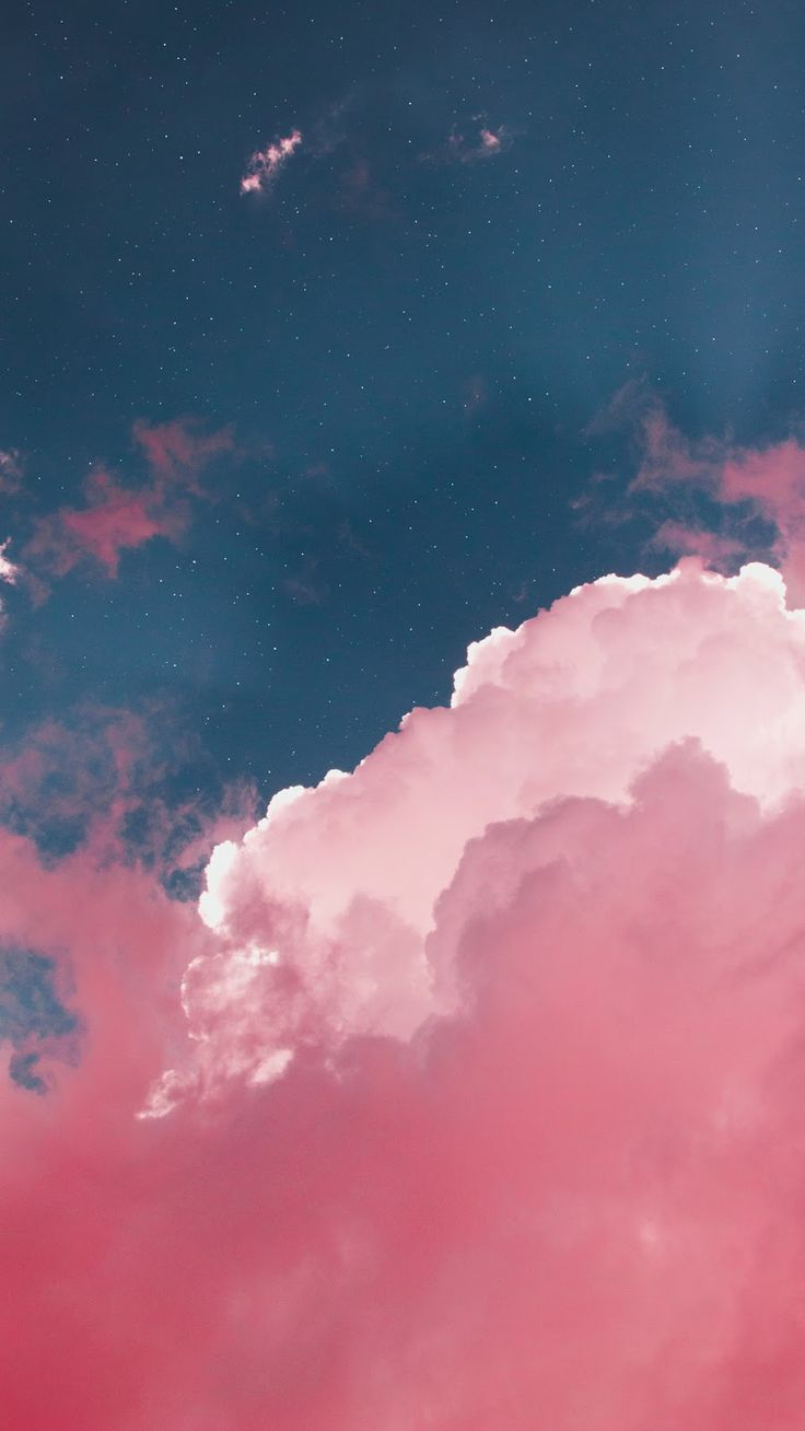 Pink cloud wallpaper wallpaper iphone android