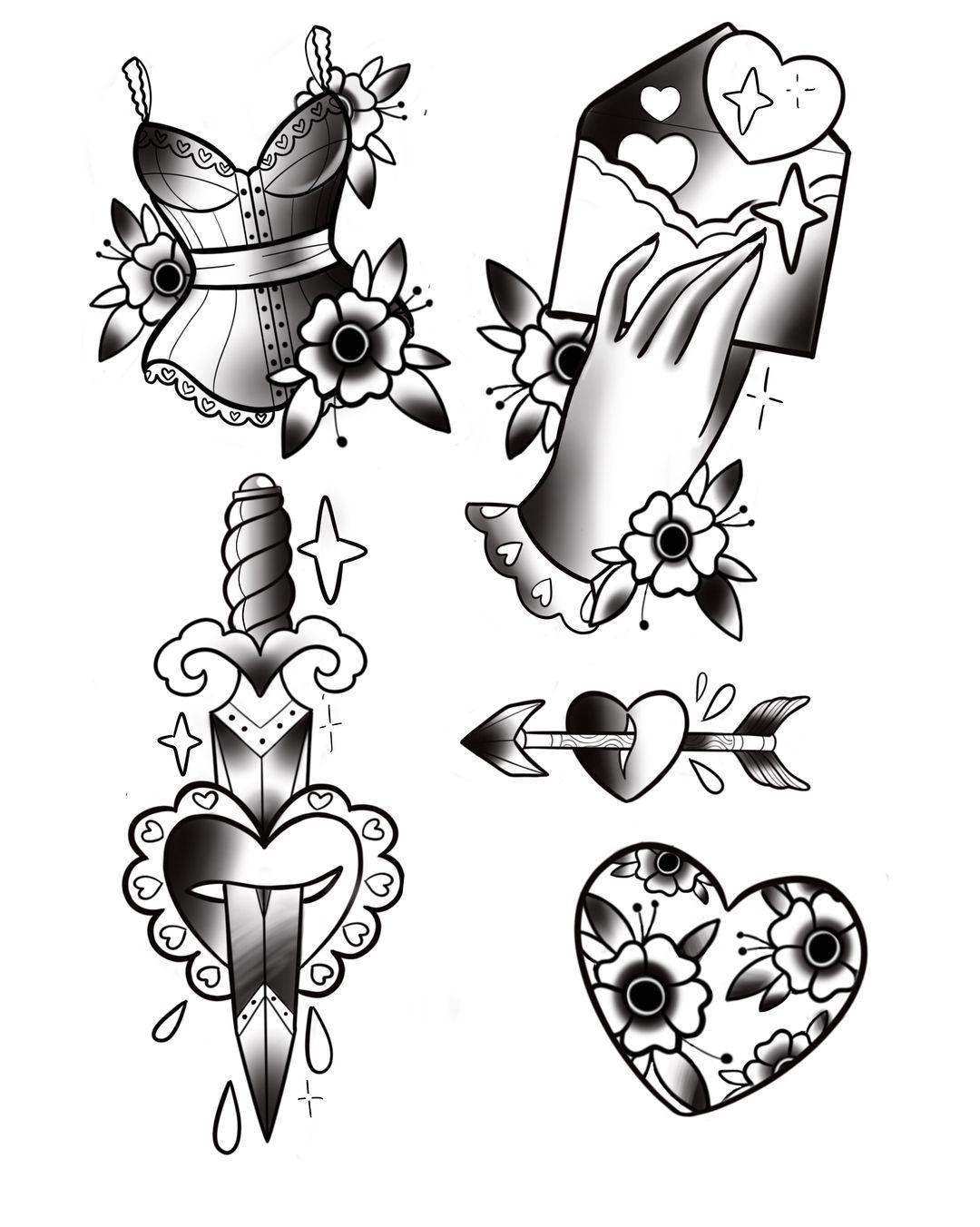 Bocetos De Tatuajes Tradicionales pin de javiera sonrisas en tradicional | tatuajes
