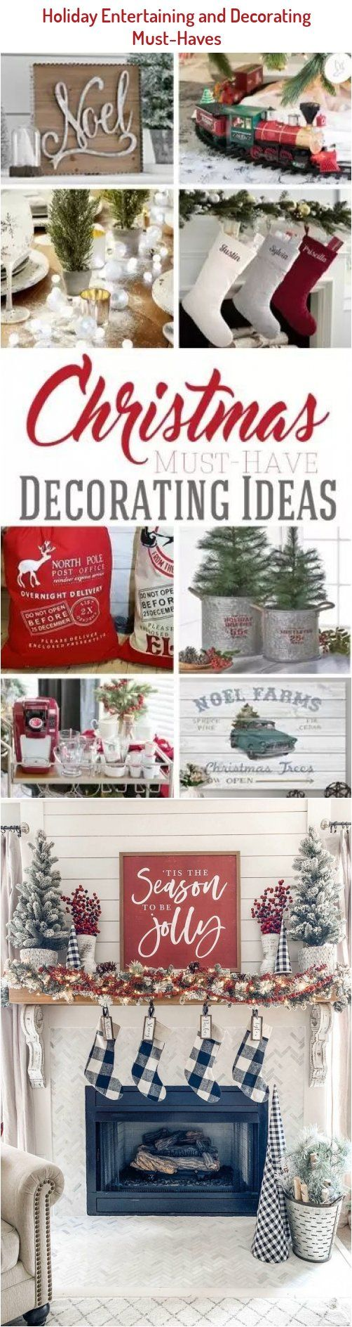 Need Some Affordable Christmas Decorating Ideas These Simple Decor Must Haves Work Great For I In 2020 Indoor Christmas Decorations Holiday Decor Affordable Christmas