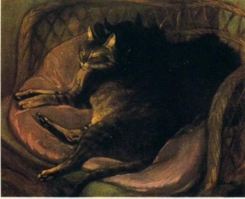 Peintures de chats by Théophile - Alexandre Steinlen Artist - Lettre De Resiliation De Bail Meuble