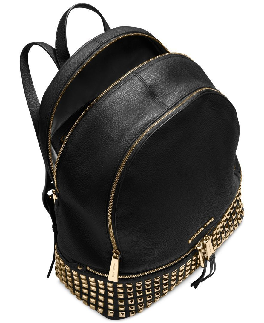 3d87be99b4f6 MICHAEL Michael Kors Rhea Zip Large Studded Backpack
