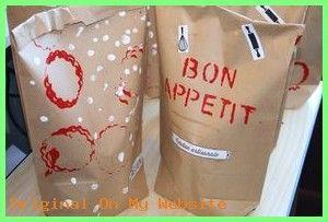 """Cadeau Fete des Meres 2019 – Cadeau gourmand pour Papa chez Lise ( avec tablier carton pour la comptine """"rece"""