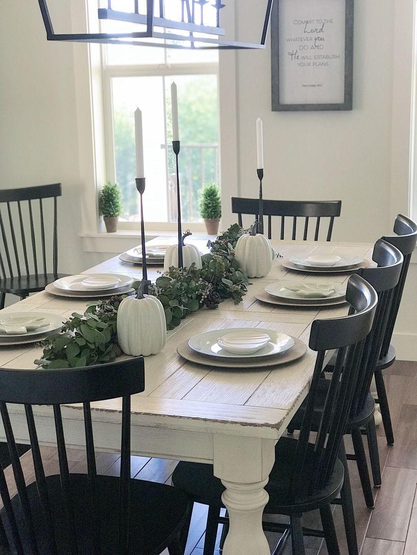 40+ Stylish Farmhouse Style Ideas For Dining Room