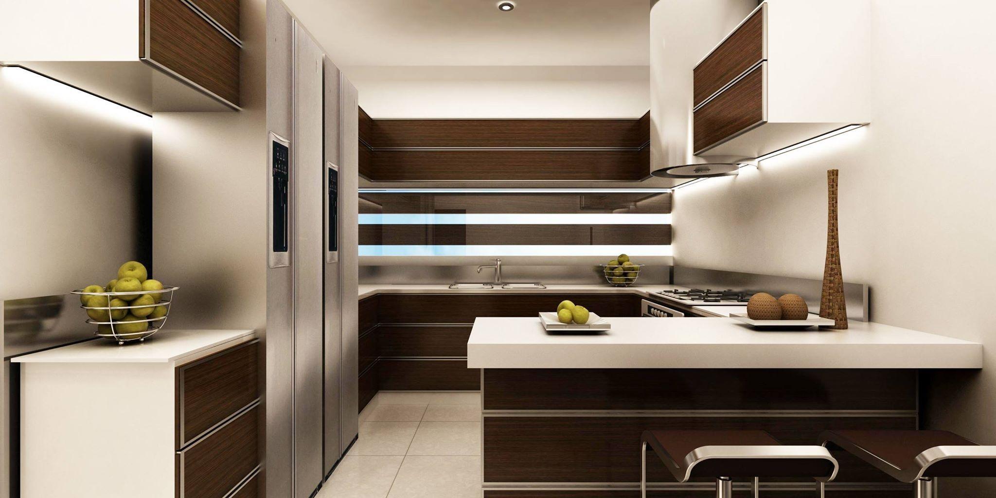 Cocina edificio de apartamentos ibiza en sta cruz de for Cocina apartamento pequeno