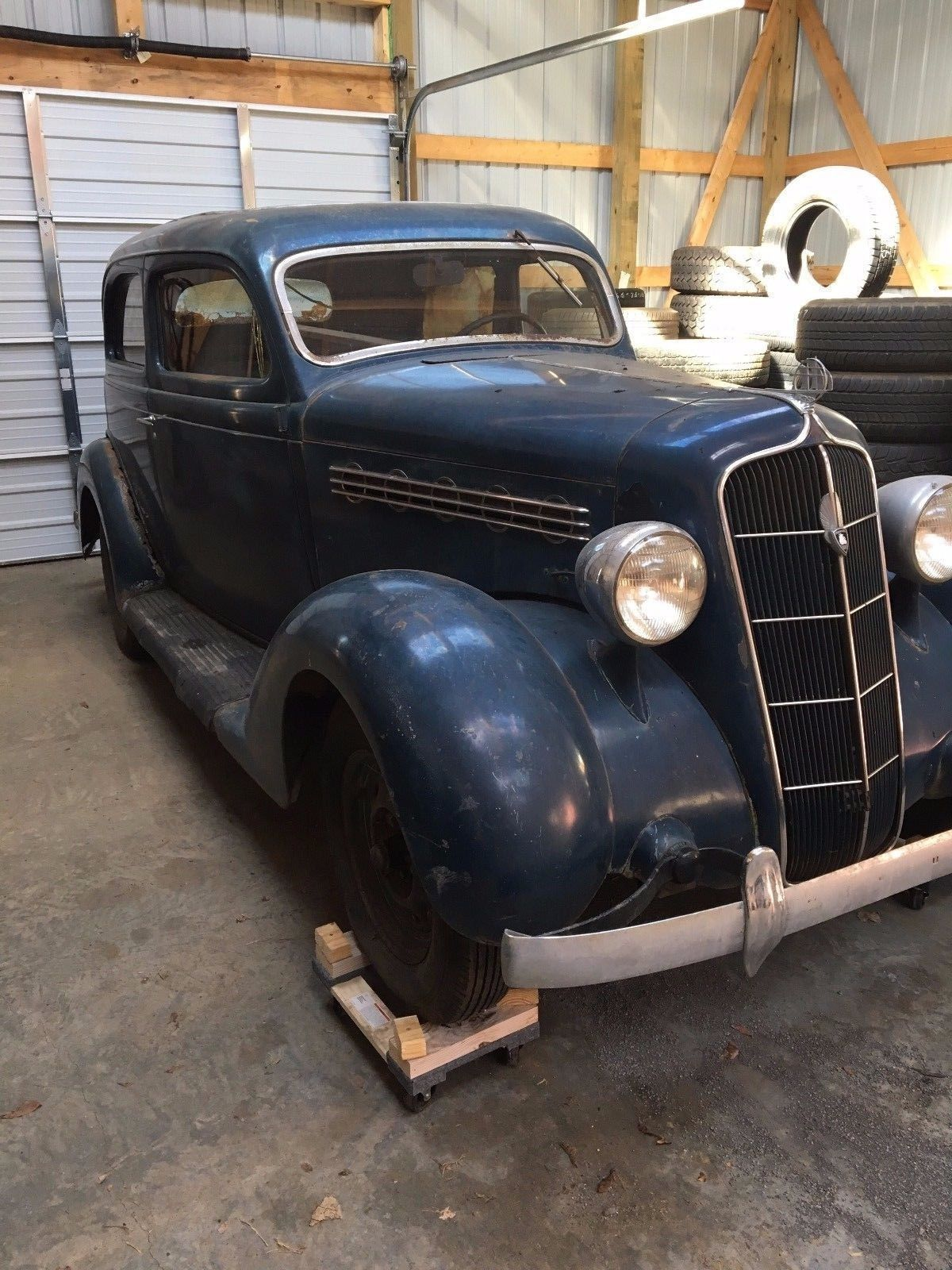 barn find 1935 Plymouth project with working engine | Project cars ...