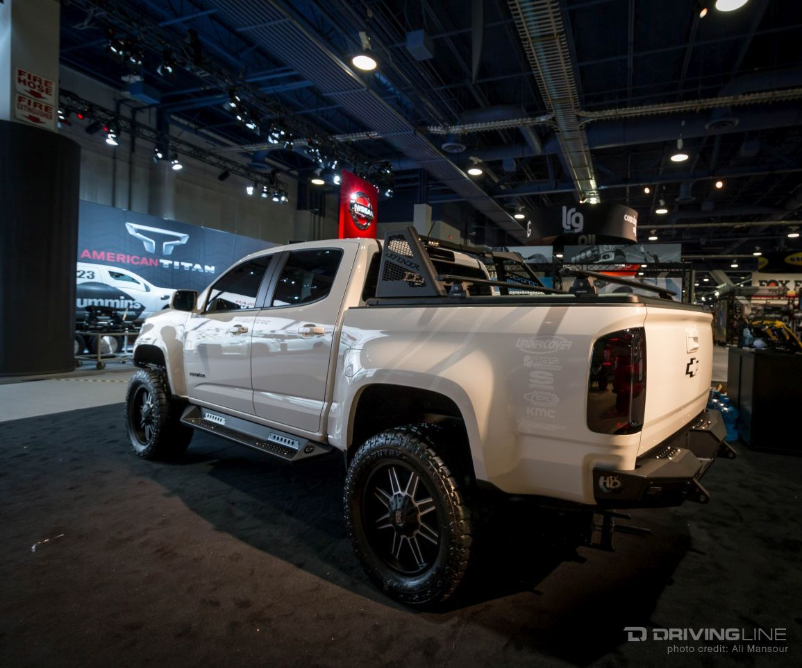 Sema Top Ten Trucks Chevy Colorado Gmc Canyon Trucks