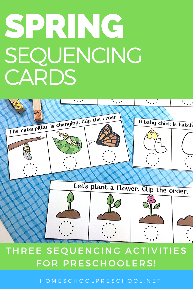 Spring Sequencing Cards Printable For Preschoolers Sequencing Cards Summer Preschool Activities Science Experiments For Preschoolers [ 1102 x 735 Pixel ]