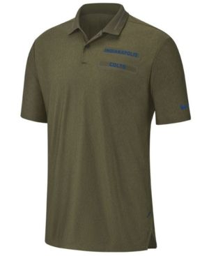 afd5a9cc3 Nike Men's Indianapolis Colts Salute To Service Polo - Green M