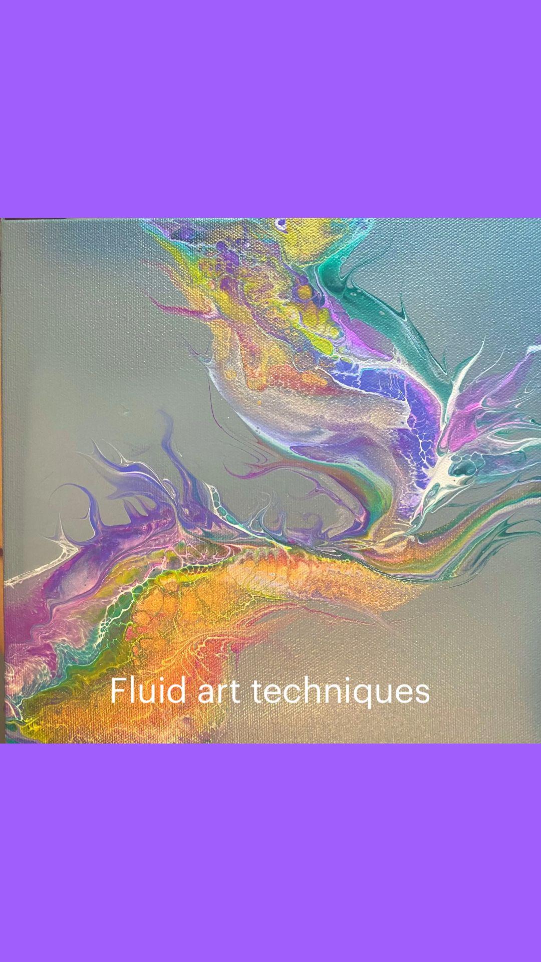 Fluid art techniques
