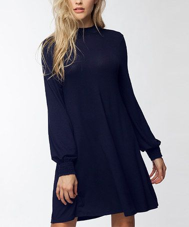 1187d536c7b  13.79 marked down from  40! Navy Back-Cutout Shift Dress  navy ...