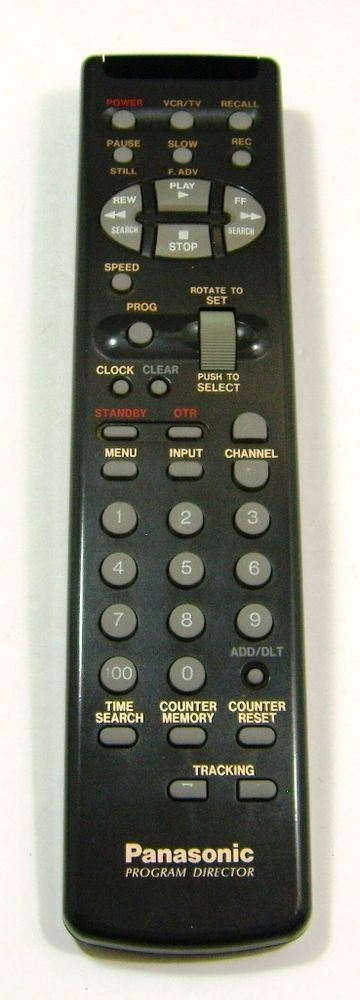 Panasonic VSQS1339 Program Director MB Universal Remote Control