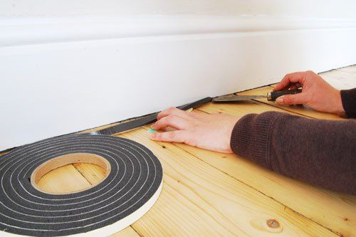 How To Fill The Gap Between Skirting And Floor | For the