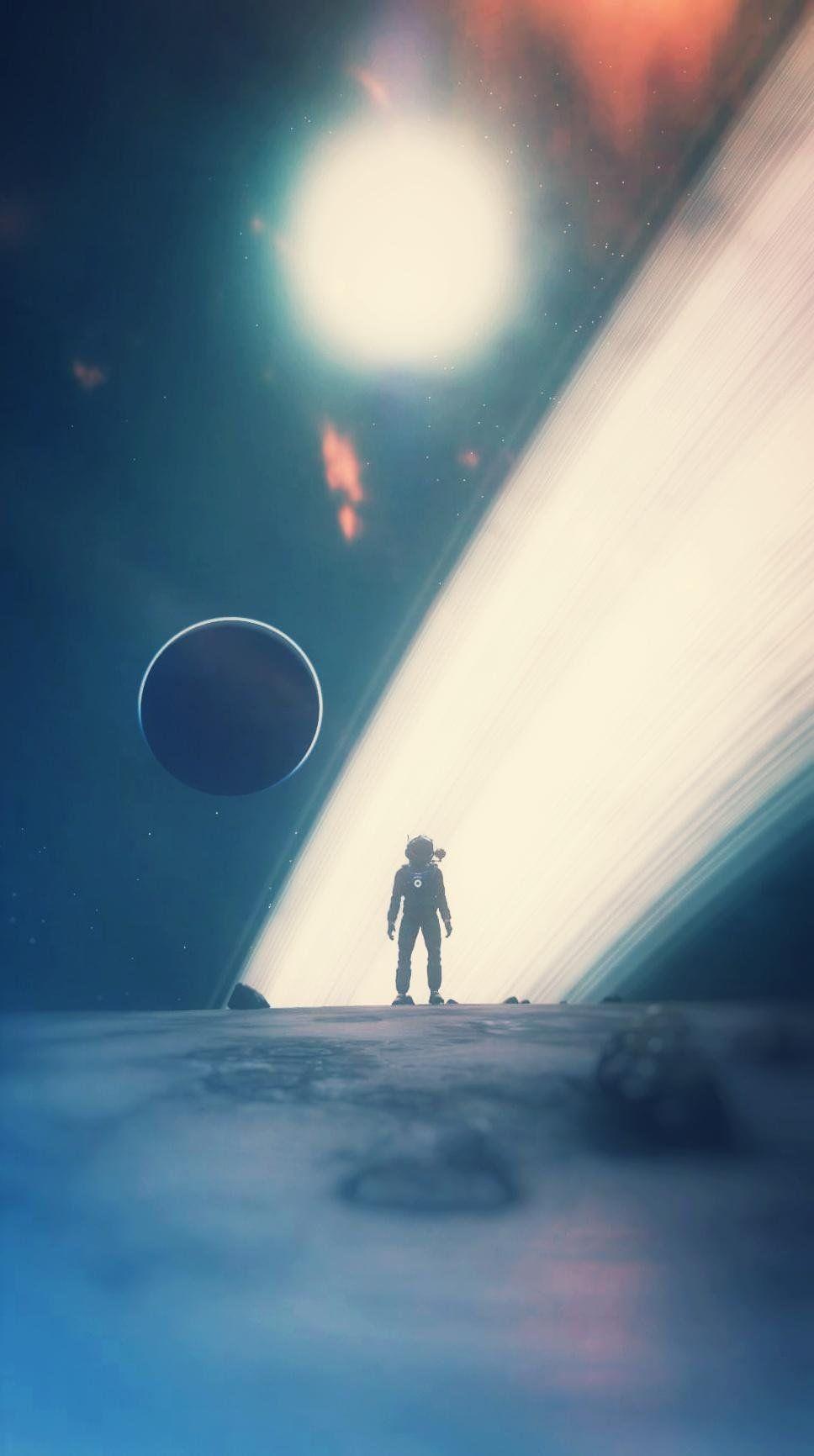 Stellar Mobile Wallpaper Nomansskythegame Astronaut Art