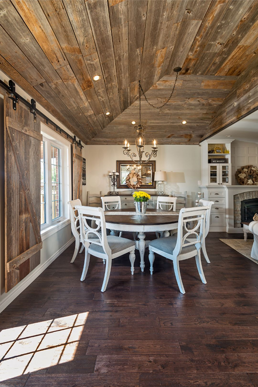 30 top and fabulous farmhouse kitchen with wooden floor